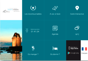 Borne interactive Office de Tourisme