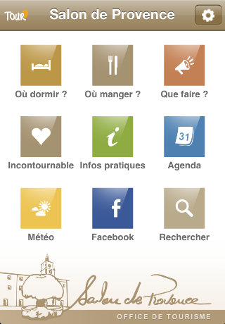 Salon de provence tour mobitour application web mobile - Office de tourisme de salon de provence ...