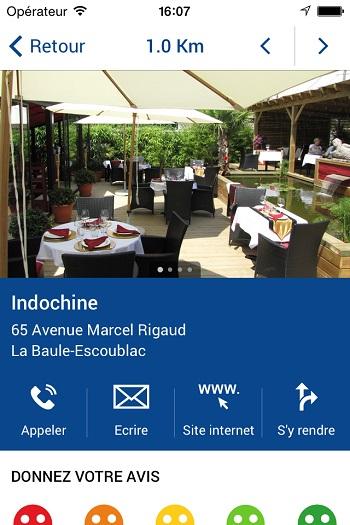 La baule tour mobitour application web mobile pour iphone et smartphone - Office du tourisme la baule escoublac ...