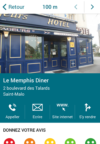 Saint Malo Tour Mobitour Application Web Mobile Pour